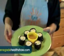 Sweet Sushi Raw Food Dessert