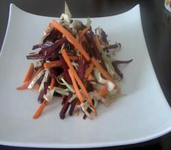 Tasty Beet Salad (Healthy Vegetarian Salad)