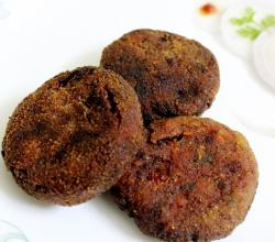 Vegetable Cutlets (Masala Burger Patties)
