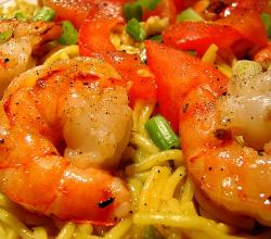 Tiger Prawn with Red Curry