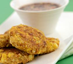 Thai Sweet Corn Cutlets