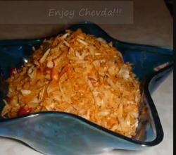 Roasted Thin Poha Chevda