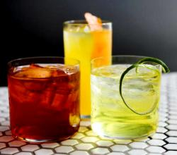 Tiki Punch, Captain Hook and Magnificent Bastard Cocktails