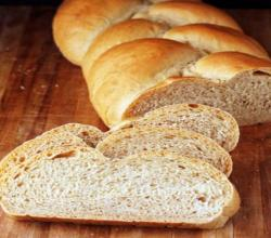 Three-Wheat Batter Bread