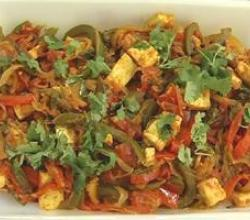 Paneer Capsicum
