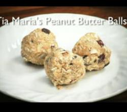 Tia Maria'S Peanut Butter Balls For Kids