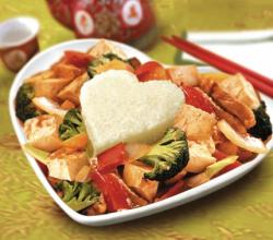 Tofu & Vegetable Stir-Fried