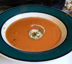 TOMATO PEANUT BUTTER SOUP 