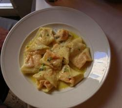 Tortellini with Walnut Pesto