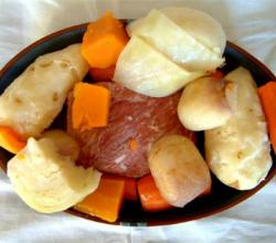 Turkey Boiled Dinner