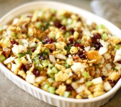 Holiday Turkey Sausage, Apple & Cranberry Stuffing