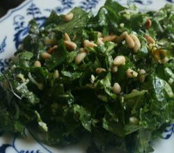 Tuscan Kale Salad Fresh From the Garden