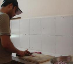 The Making of Tandoori Onion Paratha