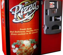 Pizza Vending Machine...