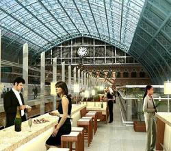 Pancras - the longest European Champagne bar
