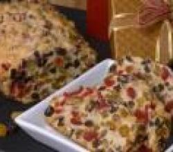 Unbaked Holiday Fruit Cake