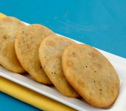 Spicy Urad Dal Puris by Tarla Dalal