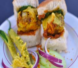 Indian Street Food Vada Pav
