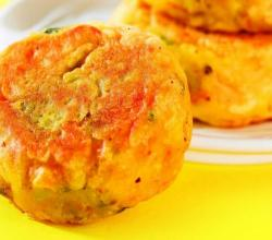 Batata Vada (Non Fried Snack) by Tarla Dalal