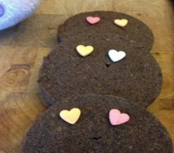 Valentine's Day Chocolate Cookies - 4 Ingredient Cookies