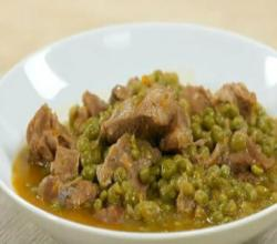 Veal Stew with Peas - Italian