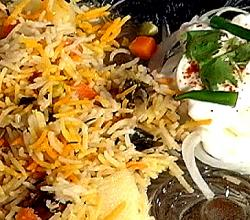 Indian Vegetable  And Basmati Pulao
