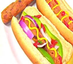 Vegetarian HOT DOG - Vegan & Gluten-free