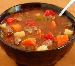 Vegetable And Meat Soup