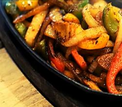 Quick Vegetable Fajitas