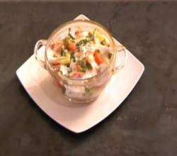 Mix Vegetable Indian Raita