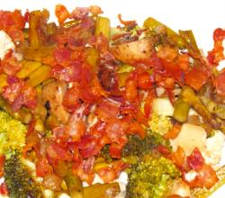 Vegetable Medley with Crispy Bacon
