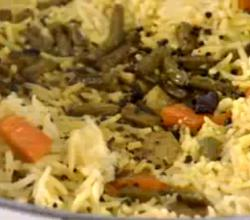 Healthy Vegetable Pulao