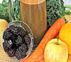 Homemade Vegetable Fruit Juice (Kid Approved Juicer)