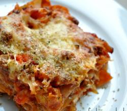 Easy Vegetarian Lasagna