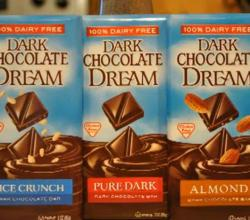 Vegetarian Vegan Product Review - Dream Dairy Free Chocolate Bars