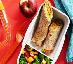 Veggie Tortilla Wraps - Easy School Lunch