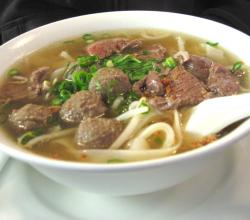 Vermicelli Soup With Meat Balls