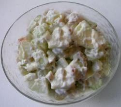 Pineapple and Celery Waldorf Salad