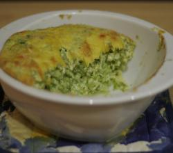 A Watercress Cheese Souffle