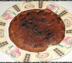 Simplest wheat flour cake