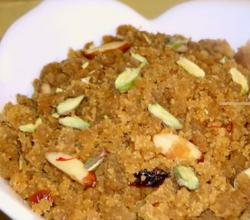 Indian Wheat Halwa