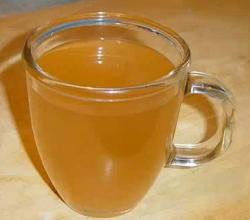 Fresh Wheat Germ Tea