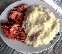White Vegetable Puree