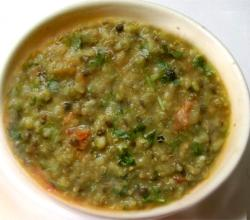 Whole Masoor Dal Khichdi