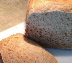 100% Whole Wheat Bread in the Bread Maker