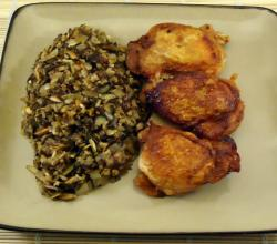 Brown Rice And Wild Rice Pilaf