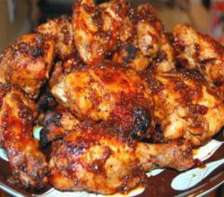 Zesty Oven Barbecued Chicken