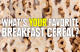 Some Fun Facts About Your Breakfast Cereal!