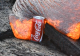 Watch How Molten Lava Devours Coca-Cola!