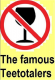 Ten Famous Teetotalers of America